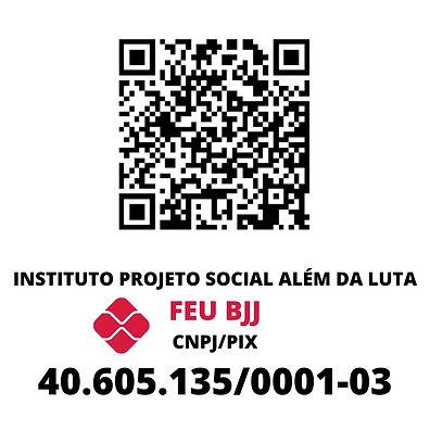 Etiqueta QR cod Projeto Social Feu bjj.j