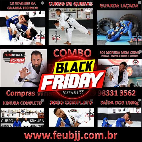 BLACK FRIDAY - COMBO 8 CURSOS FEU BJJ