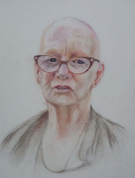 Portrait of an 80's lady
