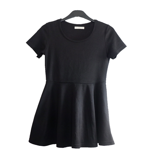 Park Girl Mini Black Dress