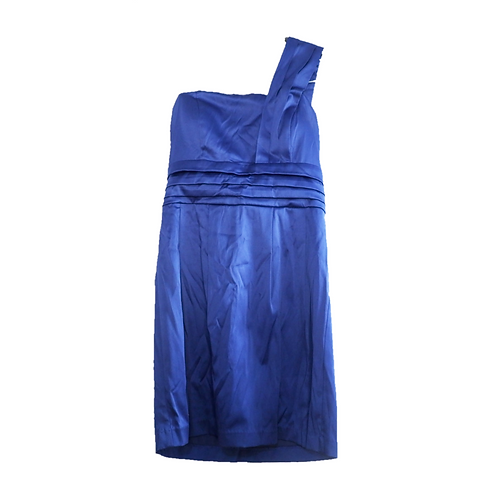 Twenty One - One Shoulder Tube Dress - Blue