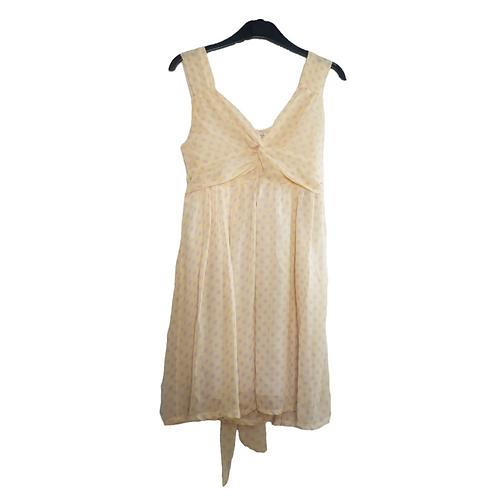 Dedonna by Tajima Yellow Polkadot Dress