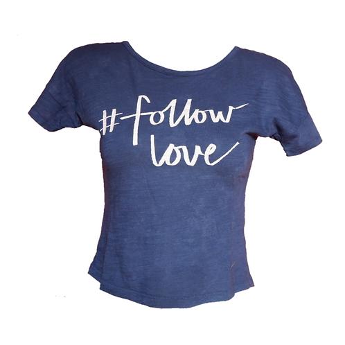 Old Navy #follow love Navy Shirt