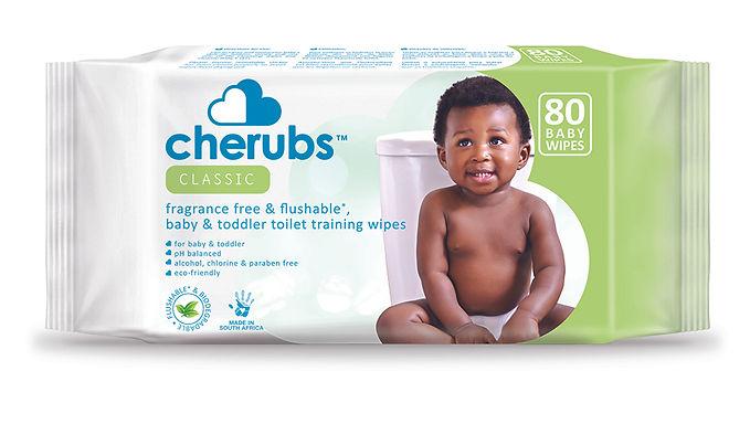 CHERUBS BABY SENSITIVE WIPES 72EA