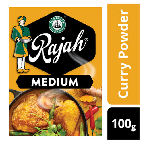 RAJAH CURRY POWDER MED 100GR