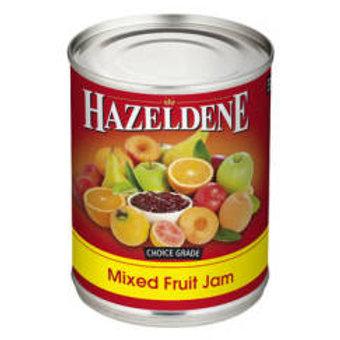 HAZELDENE JAM PLASTIC MIX FRUIT 600GR