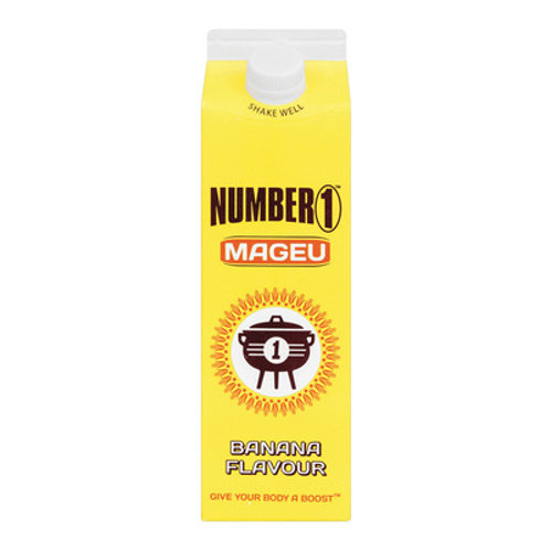 MAGEU NO1 BANANA CARTON 1L