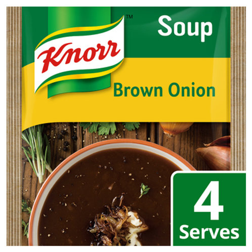 KNORR SOUP BROWN ONION 50GR