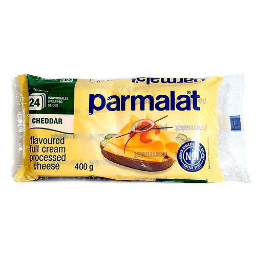 PARMALAT SLICED PROC CHEDDAR CHS 400GR