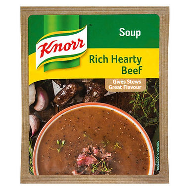 KNORR SOUP HEARTY BEEF 50GR