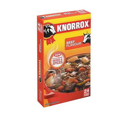 KNORROX STOCK CUBES BEEF 24EA
