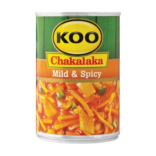 KOO CHAKALAKA MILD&SPICY 410GR