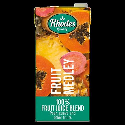 RHODES FRUIT JUICE 100% FRUIT MEDLEY 1L