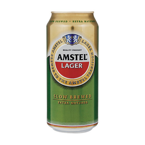 AMSTEL LAGER CAN 440ML