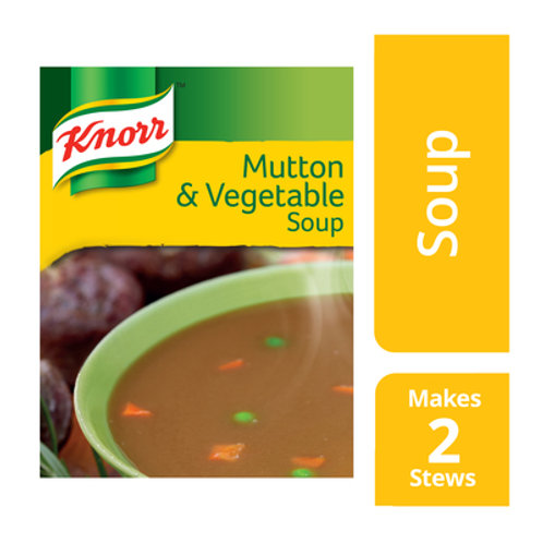 KNORR SOUP MUTTON&VEGETABLE 50GR