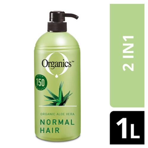 ORGANICS 2IN1 SHAMPOO NORMAL 1L