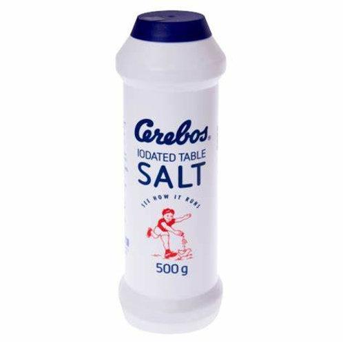 CEREBOS SALT SEA IN FLASK 500GR