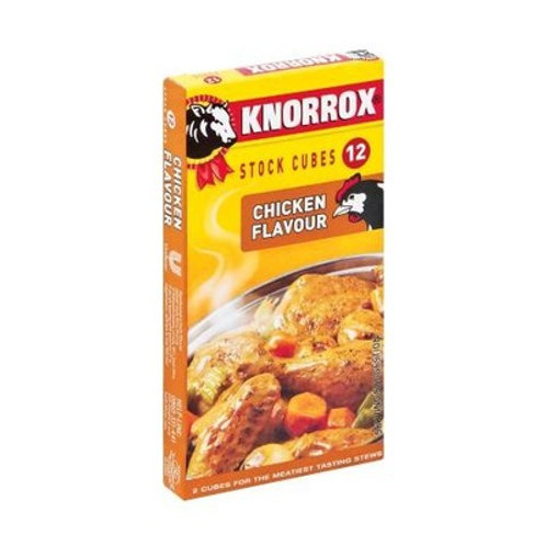 KNORROX STOCK CUBES CHICKEN 24EA