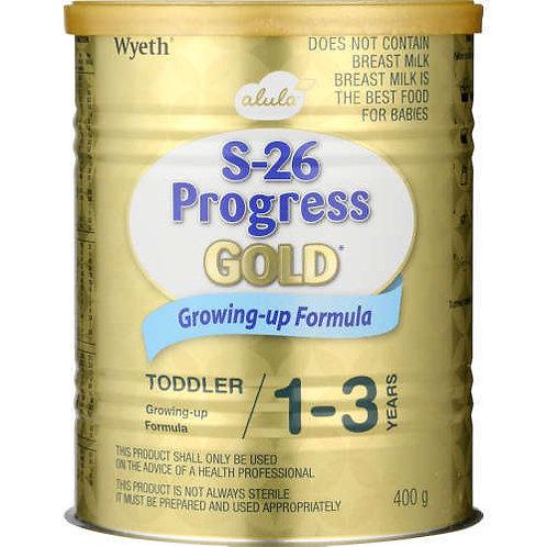 S-26 PROGRESS GOLD3 INFANT FORMULA 400GR