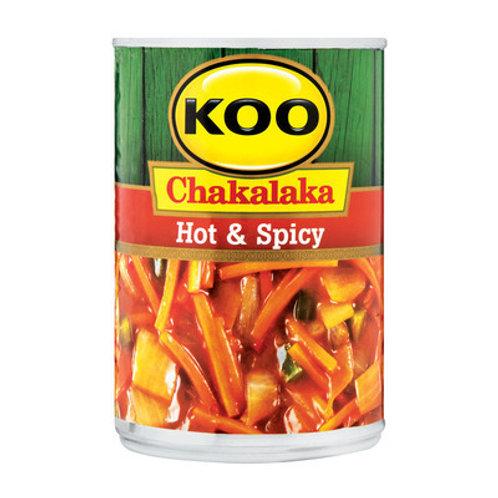 KOO CHAKALAKA HOT&SPICY 410GR