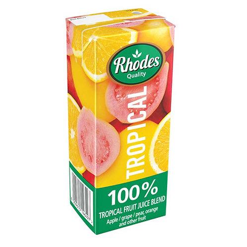 RHODES 100% F/J BLEND TROPICAL 200ML