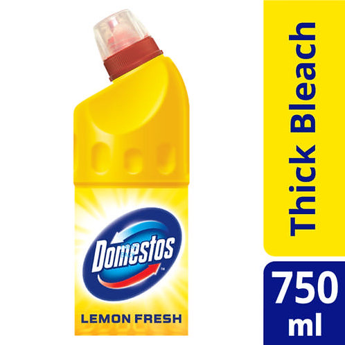 DOMESTOS SANITARY LIQ LEMONFRESH 750ML