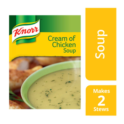 KNORR SOUP CREAM OF CHICKEN 50GR