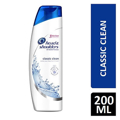 HEAD&SHOULDERS CLASSIC CLEAN SHAMP 200ML