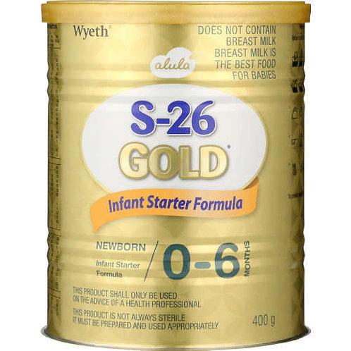 S-26 INFANT FORMULA GOLD1 400GR