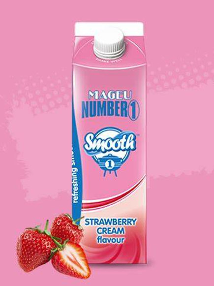 MAGEU NO 1 SMOOTH STRAWBERRY CREAM 1L