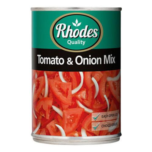 RHODES TOMATO&ONION MIX 410GR