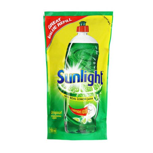 SUNLIGHT DISHWASH LIQ REGULAR REF 750ML