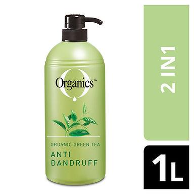 ORGANICS SHAMPOO ANTI DANDRUFF 1L