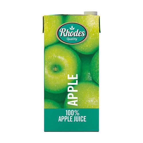RHODES 100% APPLE FRUIT JUICE BLEND 1L