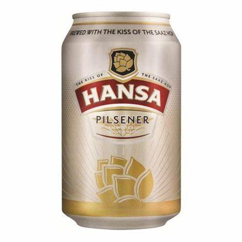 HANSA PILSENER CAN 330ML
