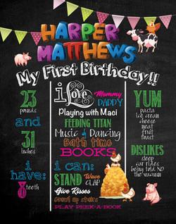 Birthday Poster Design