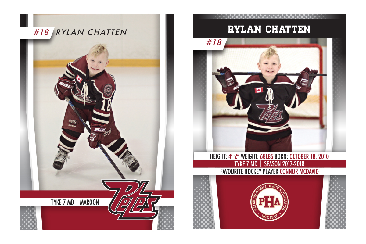 Hockey Card Design