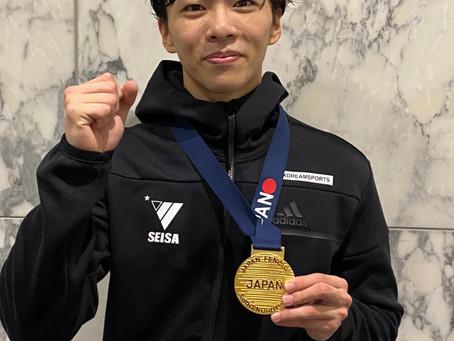 小久保選手 全日本フェンシング選手権大会優勝!!