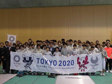 フェンシング サーブル日本代表合宿に参加