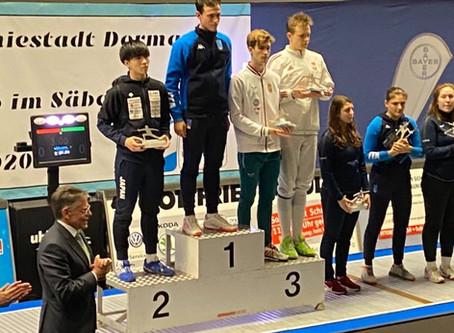 ジュニアワールドカップで小久保選手が銀メダル獲得!!