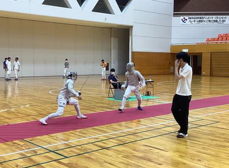 フェンシング 埼玉県学校総合体育大会に出場