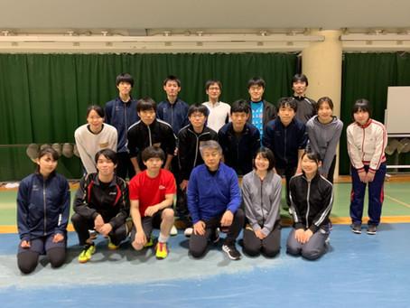 京都大学にて江村コーチの講習会を開催