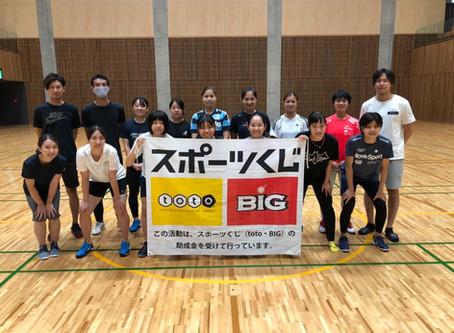 稲山選手、NAVIキャンプに参加