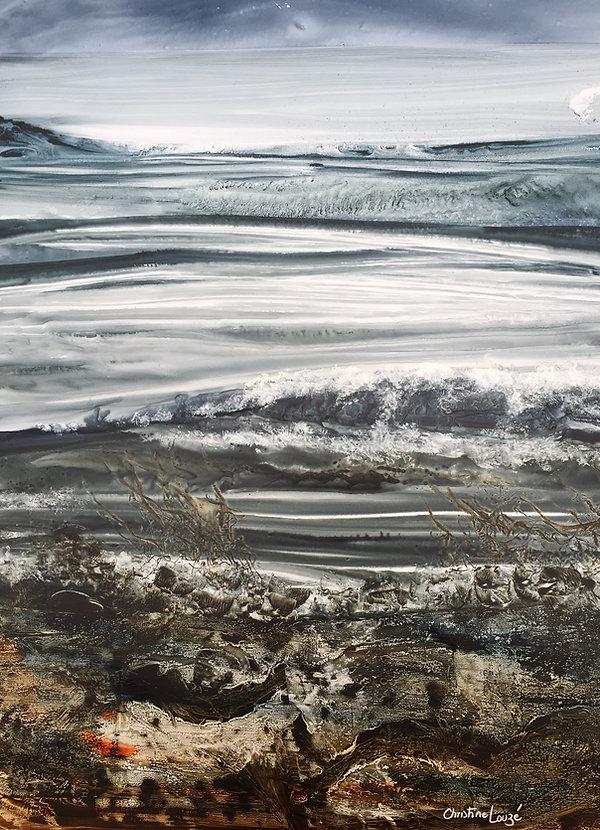 16 Christine Louzé-   RIVAGE  -aquarelle