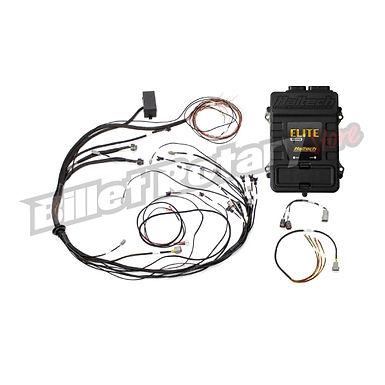 Haltech Elite 1500 + Mazda 13B S6-8 CAS with Flying Lead Ignition Terminated Har