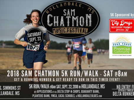 Free Professionally Timed 5K - Sept. 22