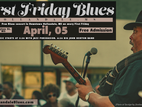 Free Concert on First Friday in Hollandale, MS on April 05, 2019