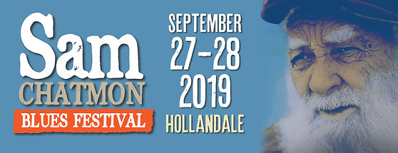 Sam Chatmon 2019 Blues Festival