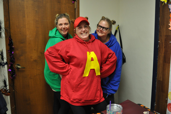 FCdCP Staff Halloween, 2019