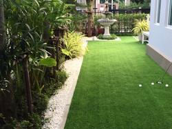 Home golf course, architecture design of